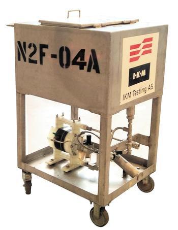 Nitrogen foaming