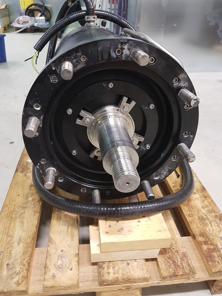 Motor with thrust bearing