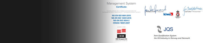 Certificates for IKM Measurement Services Australia