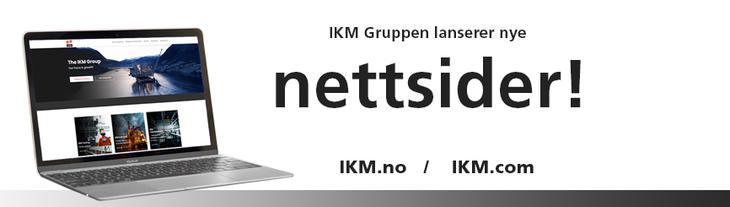 Nye nettsider for IKM!