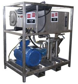 Compact unit for chemical cleaning