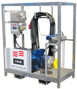 Pump for water chemicals pigging