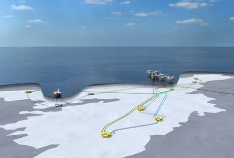 Johan Sverdrup Field Development Layout
