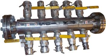 Manifolds Water/Chemicals