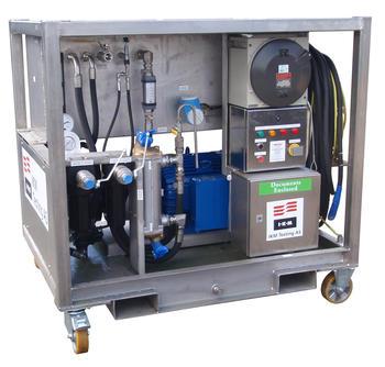 Unit for Hot oil flushing